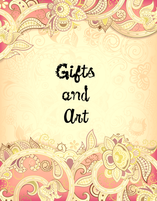 Gifts and Art
